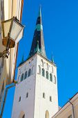 St. Olaf's Church. Tallinn. Estonia
