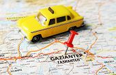 Gaziantep ,turkey  Map Taxi