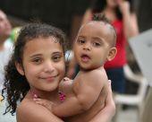 African American Children Enjoying Each Other