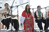ZAGREB, CROATIA - JULY 18: Members of folk group Payiz from Sulaimaniya, Kurdistan, Iraq during the