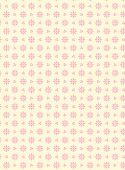 Vector Swatch Eyelet Fabric Background Over Pink