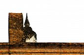 picture of budha  - Sukhothai Historical Park At Sukhothai Province In Thailand - JPG