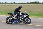 Electric Racing Motorcycle