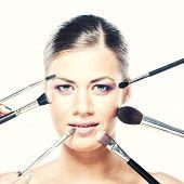 Applying Professional Makeup