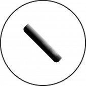 hair comb symbol