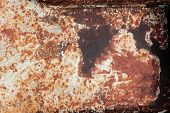 Stained Rusted Texture