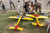 Model Aircraft With Electric Motor