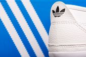 Adidas Sport Shoes Close Up