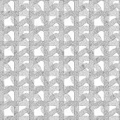 Seamless Patterned Mask Grid