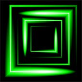 pic of neon green  - green neon square vector background - JPG