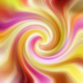 Colorful Twirl Background