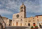 Church Of S. Michele Arcangelo In Bevagna, Italy