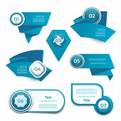 Modern infographics options banner. Vector illustration. can be used for workflow layout, diagram, n