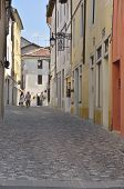 Quite Street In Italian Village