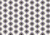 Purple Retro Roots Or Flower Pattern On Pastel Background