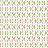 Dark Red Sweet Easter Eggs Pattern On Pastel Background