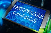 the chemical formula of pantoprazole