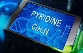 the chemical formula of pyridine