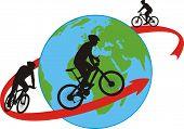 bike, cyclists - around the world