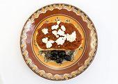 Slice Bread Chutney Cheese Olives