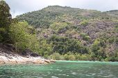 Scenic Views Of The Coastline Of Archipelago Koh Lipe Island