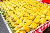 Thai Traditional Dessert, Pumpkin Pudding