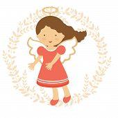 Cute angel illustration