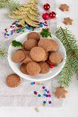 Brown Christmas Cookies