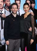 LOS ANGELES - NOV 20:  Glenn Howerton & Jill Latiano arrives to the