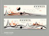Futuristic Banner Template Design