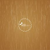 Light wood background.