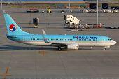 Korean Air Boeing 737-800 Nagoya Airport
