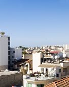 foto of larnaca  - rooftop cityscape view of Larnaca Cyprus hotels condos apartments offices - JPG