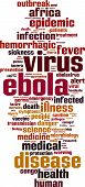 Ebola Word Cloud