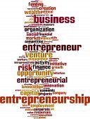 Entrepreneurship Word Cloud