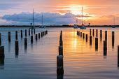 Keehi Harbor Sunset