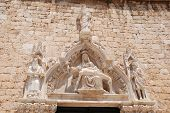 Sculpture Of Franciscan Monastery In Dubrovnik