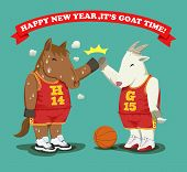 Happy New Year,it's Goat Time Basketball