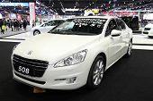 Bangkok - November 28: Peugeot 508 Car On Display At The Motor Expo 2014 On November 28, 2014 In Ban