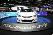 Bangkok - November 28: Hyundai Elantra Sport 1.8 Gle Car On Display At The Motor Expo 2014 On Novemb