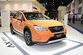 Bangkok - November 28: Subaru Xv Sti Performance Car On Display At The Motor Expo 2014 On November 2