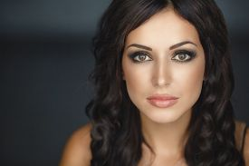 image of dark-skin  - Beautiful woman  - JPG