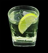 pic of vodka  - Vodka lime is a cocktail that contains vodka - JPG