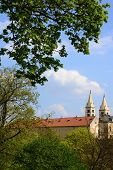 St. Vit Cathedral In Area Of Prague Castle poster