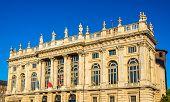 image of turin  - Facade of the Palazzo Madama in Turin  - JPG