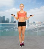 foto of skipping rope  - sport - JPG