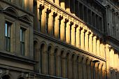 picture of tyne  - Old architectural detail at Newcastle - JPG