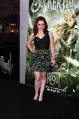 LOS ANGELES - MAR 23:  Jennifer Stone arrives at the