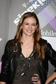 LOS ANGELES - APR 20:  Danielle Panabaker arriving at the Launch Of The New T-Mobile Sidekick 4G  at