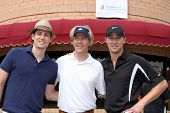 LOS ANGELES - APR 18: Zack Conroy, Jack Wagner, Kyle Lowder at the 2011 Jack Wagner Golf Classic to